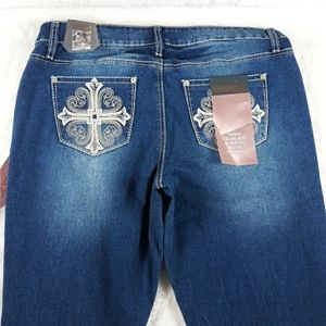 NWT Hydraulic Nolita bootcut jeans womens 12
